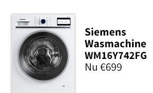 Solden - Siemens wasmachine