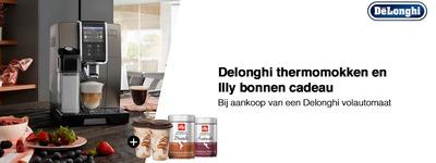 Delonghi - Cadeau bij uw volautomaat
