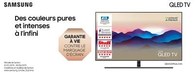 Samsung  - Garantie marquage d'écran