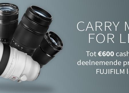 Fuji - X Series cashback