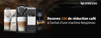 Nespresso - Réduction café