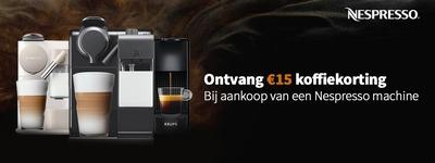 Nespresso - €15 Koffiekorting