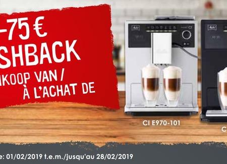 Melitta - €75 Cashback