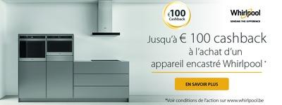 Whirlpool - Jusquà 100€ Cashback