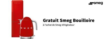 Smeg - Bouilloire offert