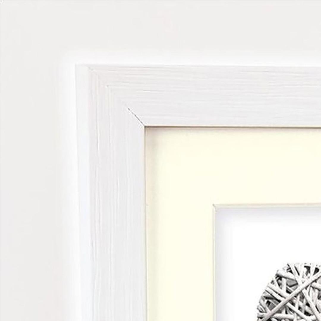 Witte Houten Fotolijst.Zep Houten Fotolijst V32684 Regent 4 Wit 10x15 15x20cm Art Craft