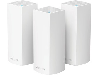 Linksys WHW0303-EU Velop Multiroom Wifi  - Triple Pack - Wit