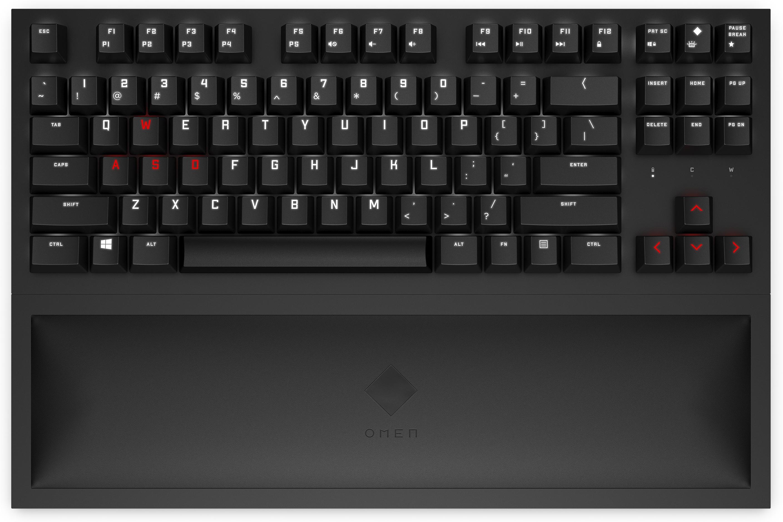 Omen By HP Spacer Wireless TKL Keyboard